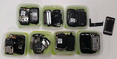 Lot of Blackberry cell phone parts for repair
