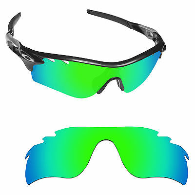 Hawkry Polarized Replacement Lenses for-Oakley RadarLock Path Vented Green