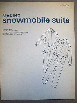 1970's Making Snowmobile Suits from USDA
