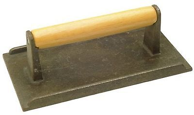Cast Iron Steak Weight Bacon Press, New