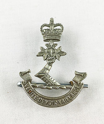 Royal Military College of Canada RMC RMCC Cap Badge