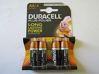 4x AA Plus Power Alkaline Batterie Duracell AR1186