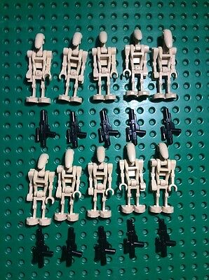 "Original LEGO®  Star Wars™ Figur ""10x Battle Droid "" Set 7662, 7670, 7678, 7681!"