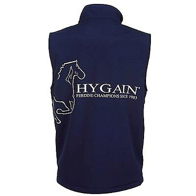 New - HYGAIN Mens Vest - Horse Riding Vest - Navy - various sizes