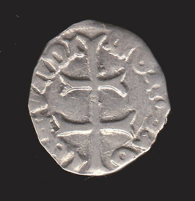 Hungary Sigismund of Luxembourg 1387 - 1437 AR Silver Denar EF 15th century coin