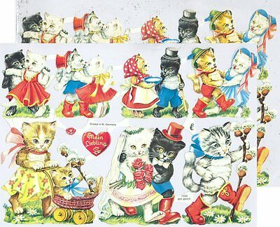 Chromo EF Conte Chat Botté 7033 Embossed Illustrations Tale Puss in Boots