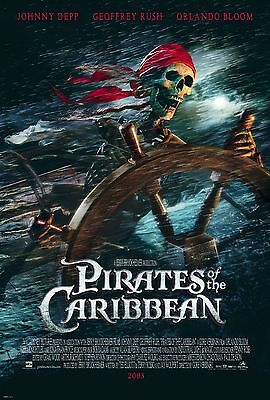 Pirates of the Caribbean: The Black Pearl Movie Poster 18'' X 28'' ID:1