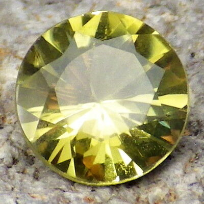 CHRYSOBERYL-BRAZIL 1.08Ct CLARITY VVS2-LEMON YELLOW COLOR-RARE GEMSTONE!