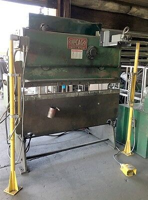 Dries & Krump D&k Chicago 25 Ton 6' Press Brake W/ Eagle Eye Light Curtain #265