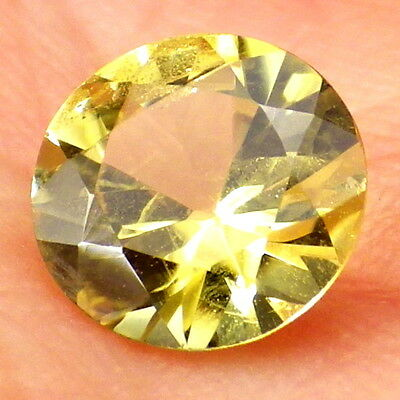 CHRYSOBERYL-BRAZIL 1.07Ct CLARITY SI2-LEMON YELLOW COLOR-COLLECTOR GRADE!