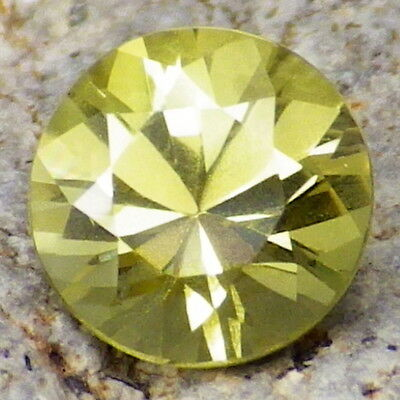 CHRYSOBERYL-BRAZIL 1.31Ct FLAWLESS-FOR UNIQUE JEWELRY-LEMON YELLOW-RARE GEMSTONE