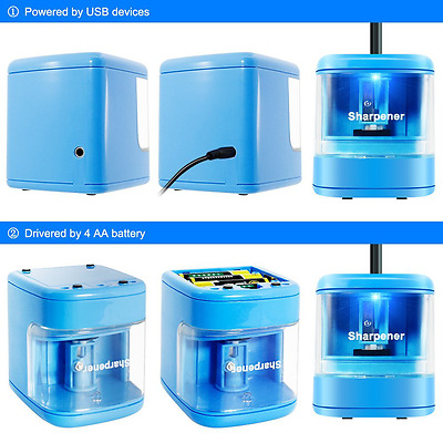 Electric Pencil Sharpener USB Charge Drive Or Batterypowered Automatic Sharpener