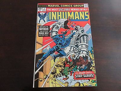 The Inhumans #2 (Dec 1975, Marvel) NM 9.2 beauty copy
