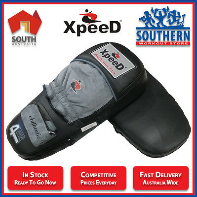 Xpeed Sport Long Focus Pads Mitts Boxing MMA Sparring Training Master Protection
