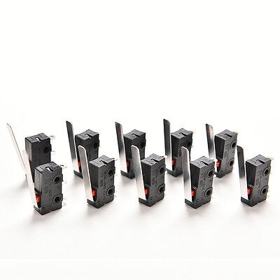 10PCS Tact Switch KW11-3Z 5A 250V Microswitch 3PIN Buckle Hot LWY