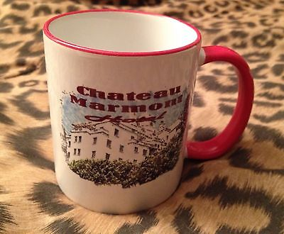 CHATEAU MARMONT hotel California coffee MUG Hollywood