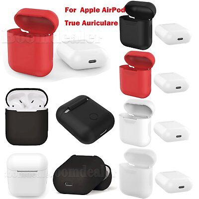 Silicona Carcasa Funda Cover Protector Para Apple AirPod True Auriculare 4 Color