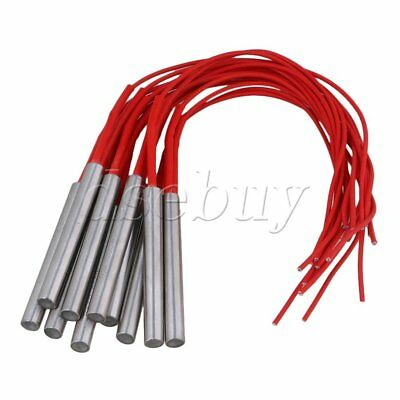 10 PCS 9.5X80mm AC110V 300W Cartridge Mold Heating element heater Tube