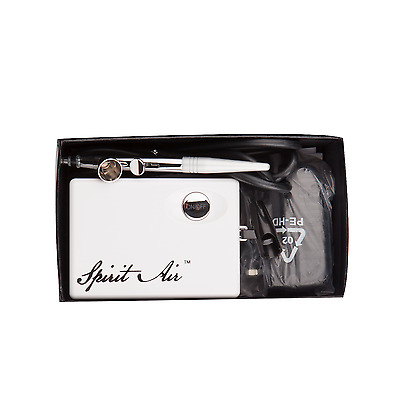 SP16 beauty special air Brush Airbrush 0.4mm Needle Art Kit compressor white