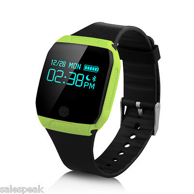 Bluetooth Smart Watch Bracelet IP67 Fitness Tracker étanche pour Android iOS FR