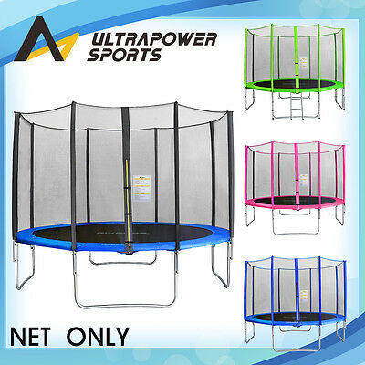 ULTRAPOWER 8 10 12 13 14 FT Replacement Trampoline Safety Net Enclosure Surround