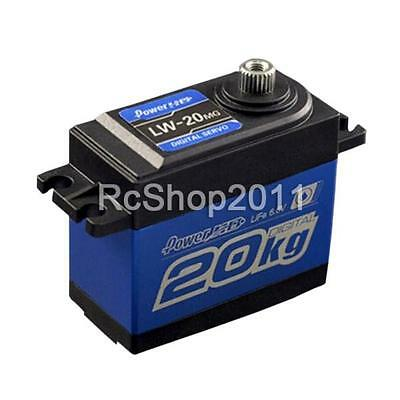POWER HD LW-20MG Waterproof Digital Servo 20kg/60g for Cars Airplanes CA