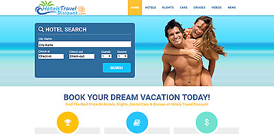 Established TRAVEL BOOKING Make Money Online Turnkey BUSINESS Website For Sale