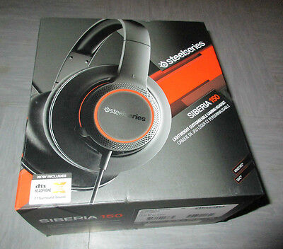 Steel Series Siberia 150 Gaming Headset & Integrated Microphone Illumniated New