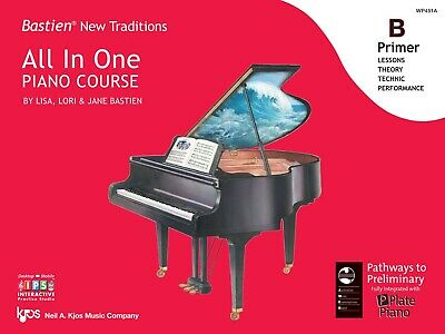 Bastien New Traditions All in One Piano Course - Primer B - Kjos WP451A NEW