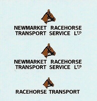 Dinky-Spares | 979 Racehorse Transport Newmarket | Waterslide transfer