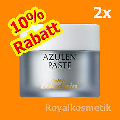 DR. R. A. ECKSTEIN  2x  Azulen Paste 15 ml  Pickelpaste