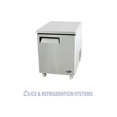 """Atosa  27"""" Commercial Undercounter Work Top Freezer Mgf8405"""