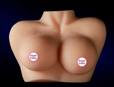 silicone Lifesize Female mannequin Breast display Training Aid Housekeeping New