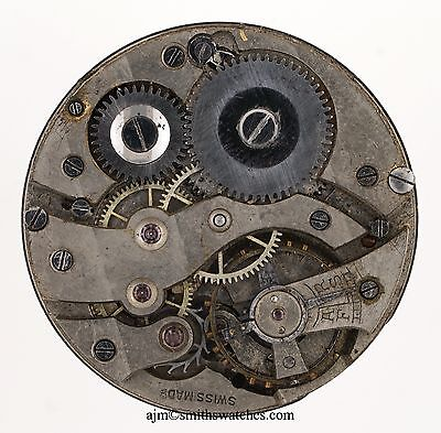 Trench Wristwatch Movement Ww1 Military Spares Or Repairs R291