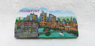 FRANKFURT GERMANY Resin 3D Fridge Magnet Collectibles Souvenir Tourist Gift