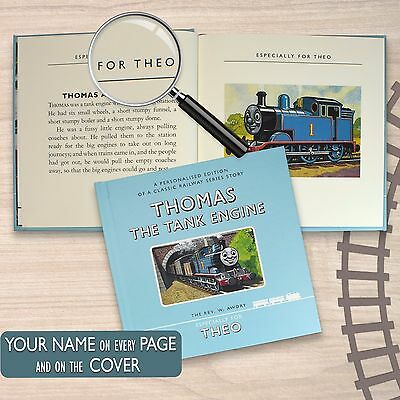 Personalised Thomas the Tank Engine Book, Including Gift Box Birthday
