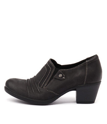 New Planet East Black Womens Shoes Casual Shoes Heeled