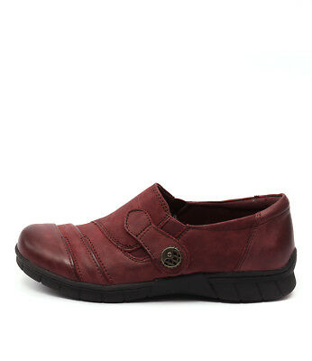 New Planet Jess Red Womens Shoes Casual Shoes Heeled