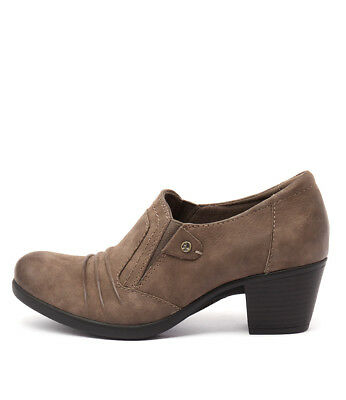 New Planet East Taupe Womens Shoes Casual Shoes Heeled