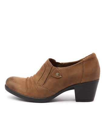 New Planet East Cognac Womens Shoes Casual Shoes Heeled