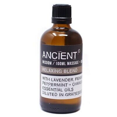 Relaxing Massage Oil 100ml, Lavender, Fennel, Peppermint and Chamomile