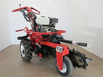 Baretto Self Propelled Hydraulic Mini Trencher- Only 72 hours on it!