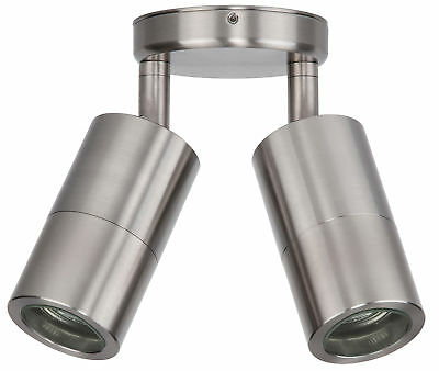 NEW 316 Stainless Steel Double Adjustable Spot Light
