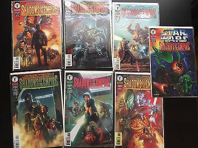 Star Wars Shadows Of The Empire Comic Lot 1-6 + Special