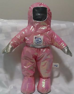 Vintage Authentic Intel Pink 14 Inch Bunny People Doll - Pentium Ii