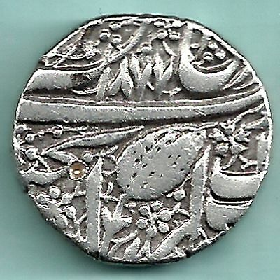 Sikh Empire - Ah 1788 - Amritsar Mint - One Rupee - Rarest Silver Coin