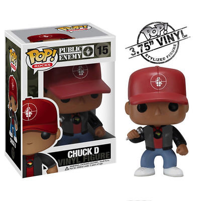 Public Enemy Collectibles: Funko 2011 Chuck D Pop! Rocks Vinyl Figure #15 (C1)