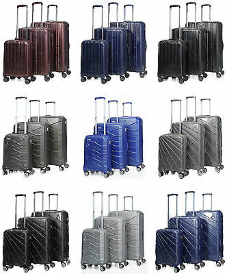 Aerolite Premium Quality 8 Wheel Spinner Hard Shell Lightweight Suitcase Luggage