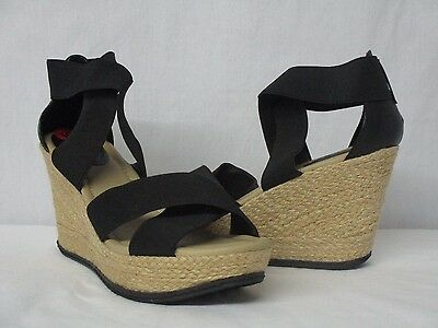 d0ea9f205b3 KENNETH COLE ESPADRILLE Wedges Womens 9 Tan Gold Sparkle - $25.00 ...