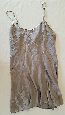 Victorias secret gray negligee size large